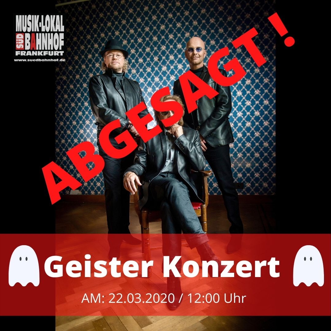 """GEISTER KONZERT - """"mit NIGHT FEVER - The Very Best Of The BEE GEES"""""""